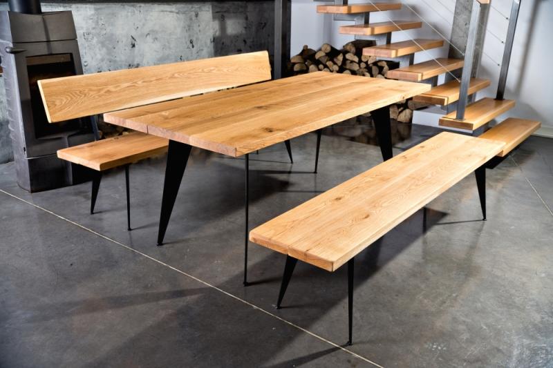 W Ultra Galeria - Meble góralskie, biesiadne, z bali drewnianych SG11